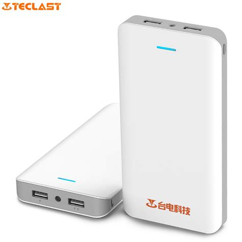 Powerbank 1 Cell 9800 Mah Indikator Led original teclast t200n 20000mah power bank led bright