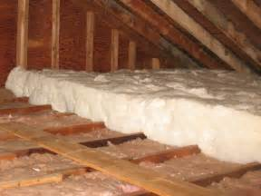 installing attic insulation mike s tech blog
