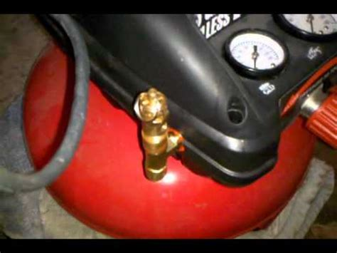 how to add another tank to an air compressor no welding tapping etc