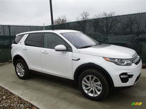 white land rover discovery 2017 2017 fuji white land rover discovery sport hse 117761638