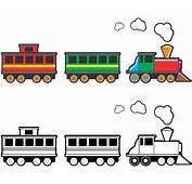 Car Clipart Train  Pencil And In Color
