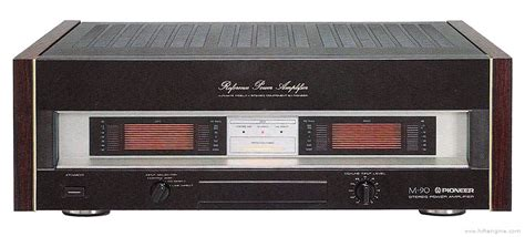 Power Lifier Mobil Pioneer pioneer m 90 manual stereo power lifier hifi engine