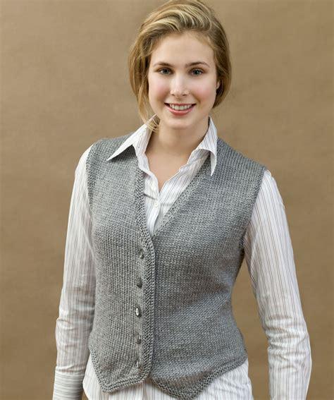 knit vest knit vested stylish knitting pattern