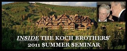 koch brothers house transcript inside the koch brothers 2011 summer seminar gov chris christie s