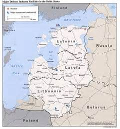 Baltic States Map by Major Defense Industries In Baltic States Map Sweden