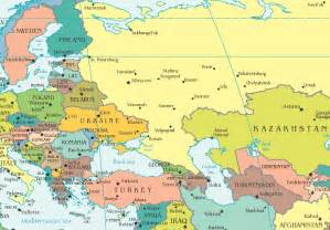 Europe Asia Map by Why Is Russia In Asia And Europe
