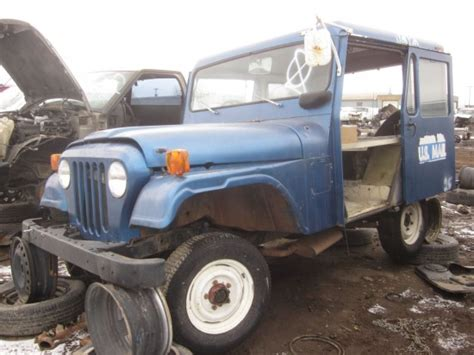 mail jeep for sale junkyard find 1972 am general dj 5b quot mail jeep quot the