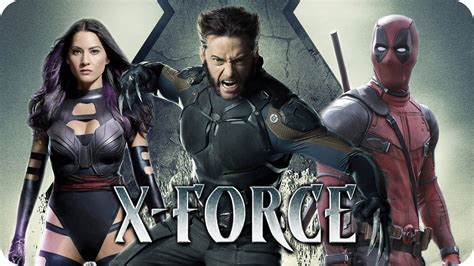 film action 2018 x force movie preview 2018 deadpool x men team up