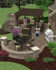Outdoor Patio Design Plans Affordable Patio Designs For Your Backyard Mypatiodesign