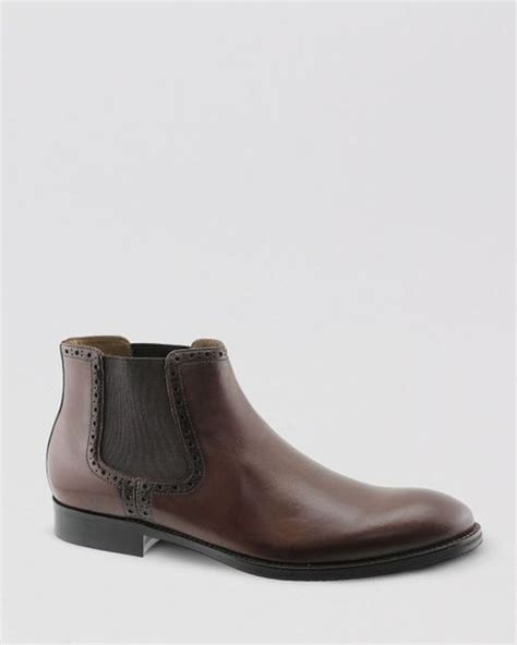 johnston and murphy chelsea boot johnston murphy johnston murphy tyndall chelsea boots in