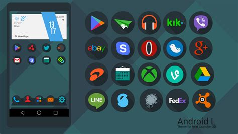 themes for android without launcher karsakoff development blog next launcher theme android l