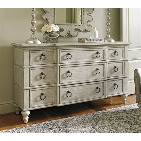 Oyster Bay Bedroom Furniture Oyster Bay Barrett 9 Drawer Dresser In Oyster 714 233