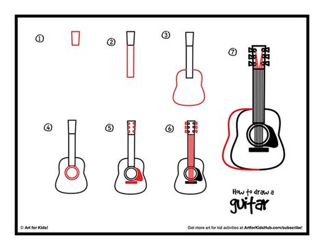 tutorial gitar best part 407 best drawing step by step images on pinterest