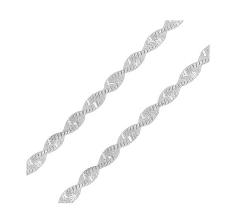 mostrar cadenas en c compra al mejor precio cadena de plata de ley torcida en