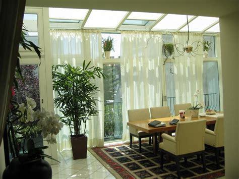 Wintergarten Vorhange