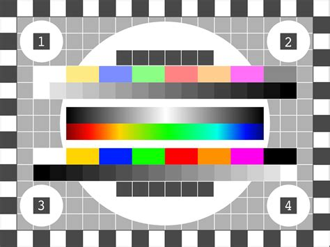 test pattern lcd tv free vector graphic tv test pattern test picture free