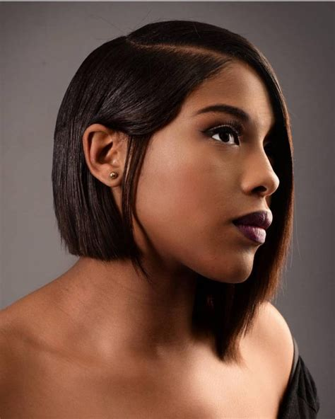 black hairstyles going to one side 60 elegant long and short bob hairstyles for black women