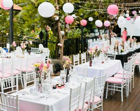 wedding table decoration singapore outdoor wedding venues in singapore gorgeous garden and locations to get married in