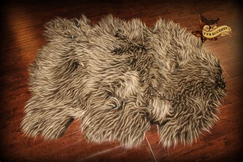 Faux Polar Skin Rug With by Rugs Make You Feel Like You Are Petting An Artic Polar With Faux Skin Rug
