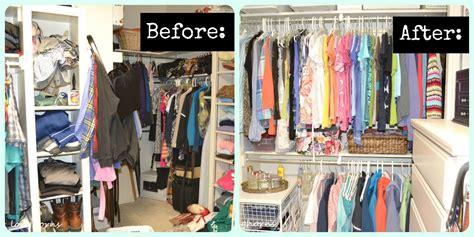 before and after organizing tips for getting organized live creatively inspired