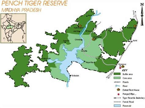 pench tiger reserve looking for gis specialist gis resources