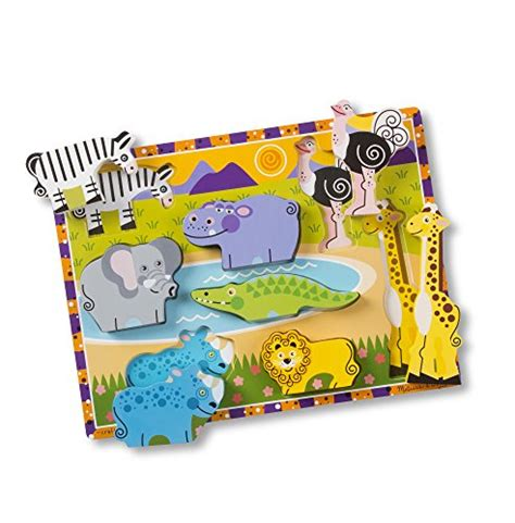 atham toys puzzle chunky angka 0 9 doug safari wooden chunky puzzle 8 pcs wantitall