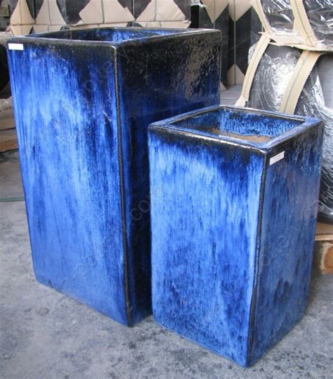 Blue Planter by Ceramic And Pottery Manufacturer And Supplier