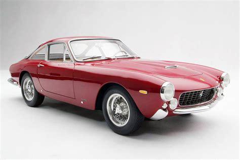 ferarri model 250 gt lusso 1962 scale model cars