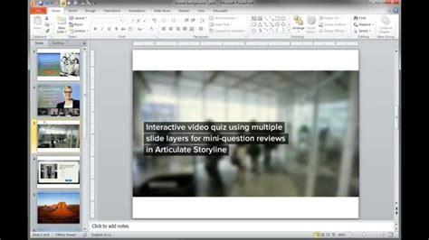 tutorial in powerpoint powerpoint tutorials how to create blurred backgrounds