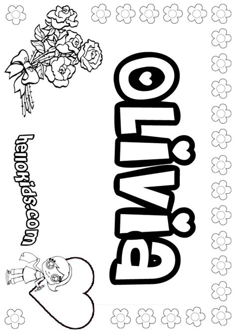 printable coloring pages with names coloring pages hellokids