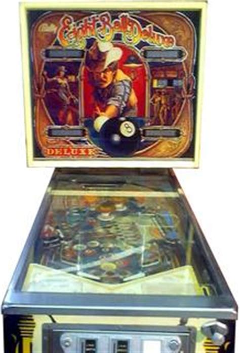 eight ball deluxe pinball by bally manufacturing co.