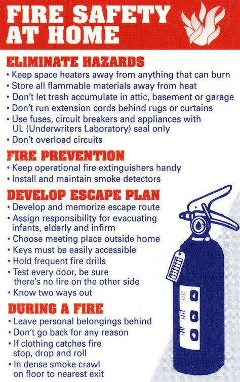 home information department home fire prevention safety tips safety fire safety