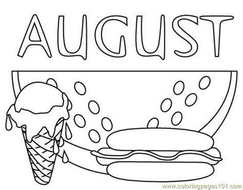 coloring pages augustclr food fruits gt watermelon