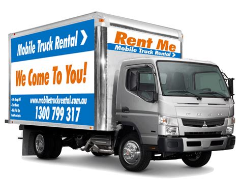 mobile truck removal truck hire cheap small truck mobile truck rental