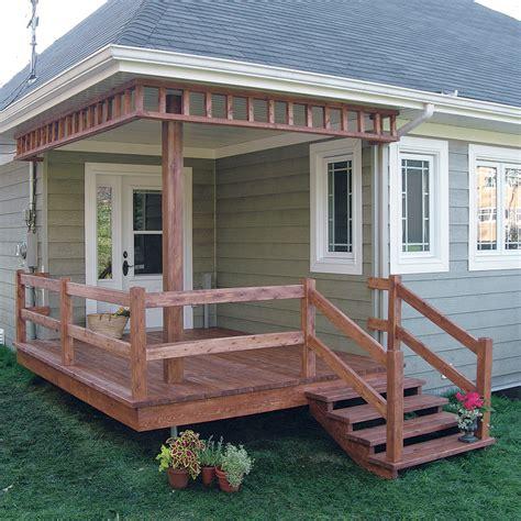 Construire Un Escalier En Bois 3972 by Fabriquer Escalier Et Garde Corps Pour Le Patio Je Jardine