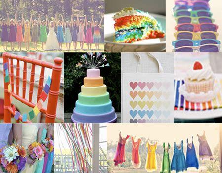 rainbow themed wedding colorful wedding decor rainbow wedding decor