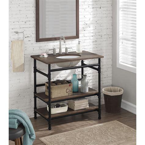 industrial bathroom vanity rustic yet refined this bathroom vanity will add an