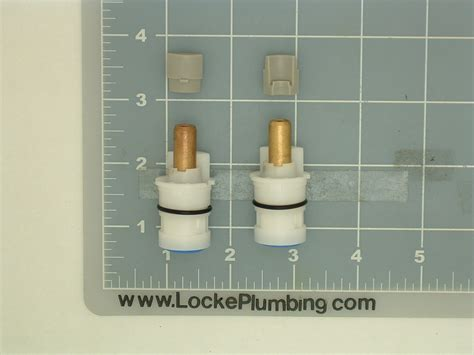 Gobo Faucet Parts by Delta Rp47422 Ceramic Dual Stems Per Pair Locke Plumbing