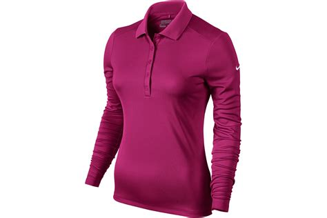 3second Print Pink nike golf victory sleeve polo shirt from