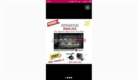Unit Kenwood Ddx 316 by Unit Kenwood Ddx 316 Garansi Resmi 2 Tahun