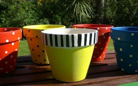 Painting Garden Pots Ideas Diy Easy With Clay Pots God Does Reassemble Shattered Pieces