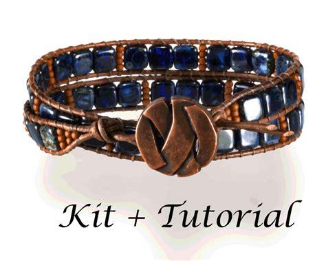 bead bracelet kit wrap bracelet kit jewelry kit with supplies