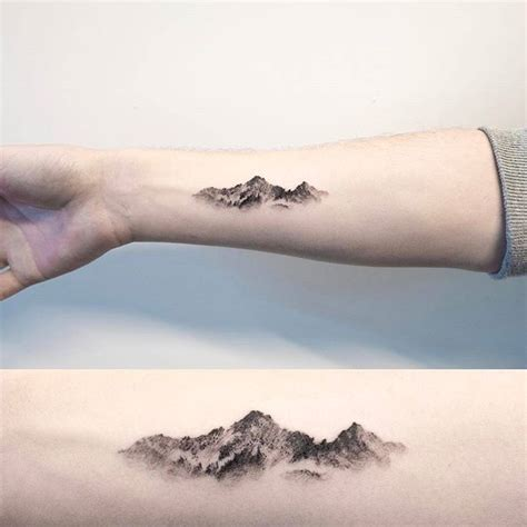 mountian tattoo 25 best ideas about mountain tattoos on