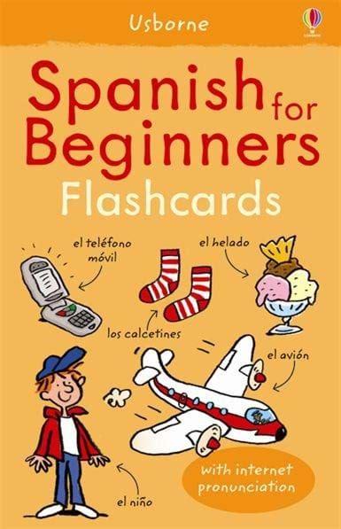 spanish for beginners usborne spanish for beginners flashcards at usborne children s books