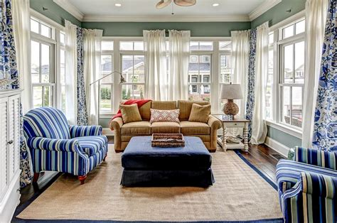 sunroom curtains sunroom curtains add splash home decorating trends homedit