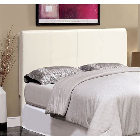 white panel headboard furniture of america ramone full queen panel headboard in