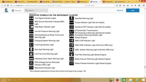 hyundai accent warning lights how to fix 2006 hyundai terracan 2 9 what does blinking