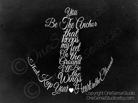 Anchor Print Inspirational Print Quot - inspirational quotes about anchors quotesgram