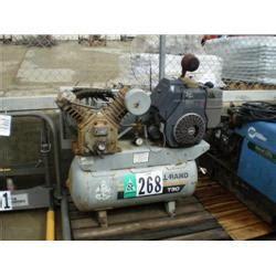 ingersoll rand 2420f11g portable air compressor s n 30t784105