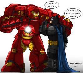 Ironman and batman by misterho on deviantart avengers funny fan art